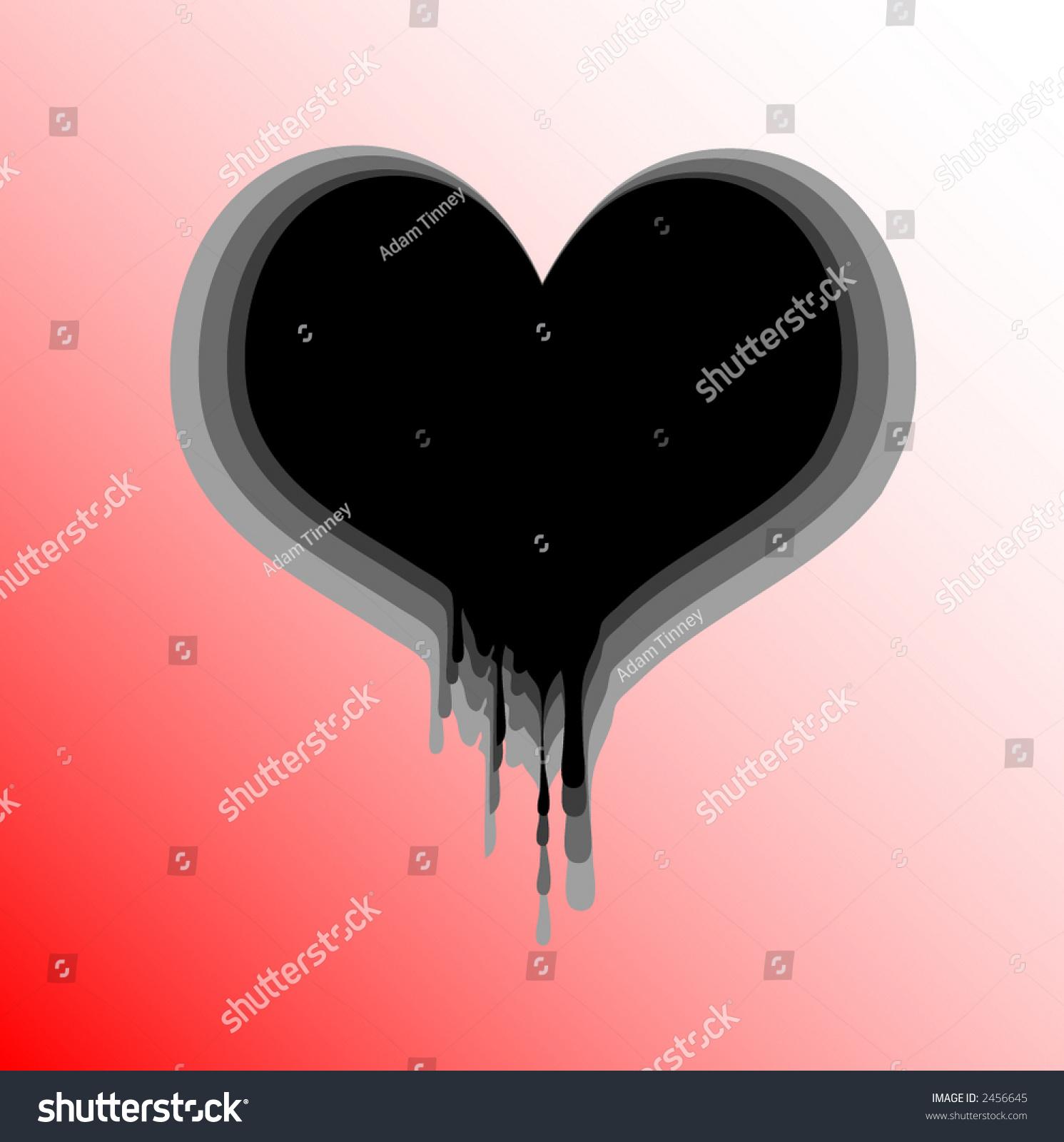 Bleeding heart stock vector 2456645 shutterstock bleeding heart buycottarizona