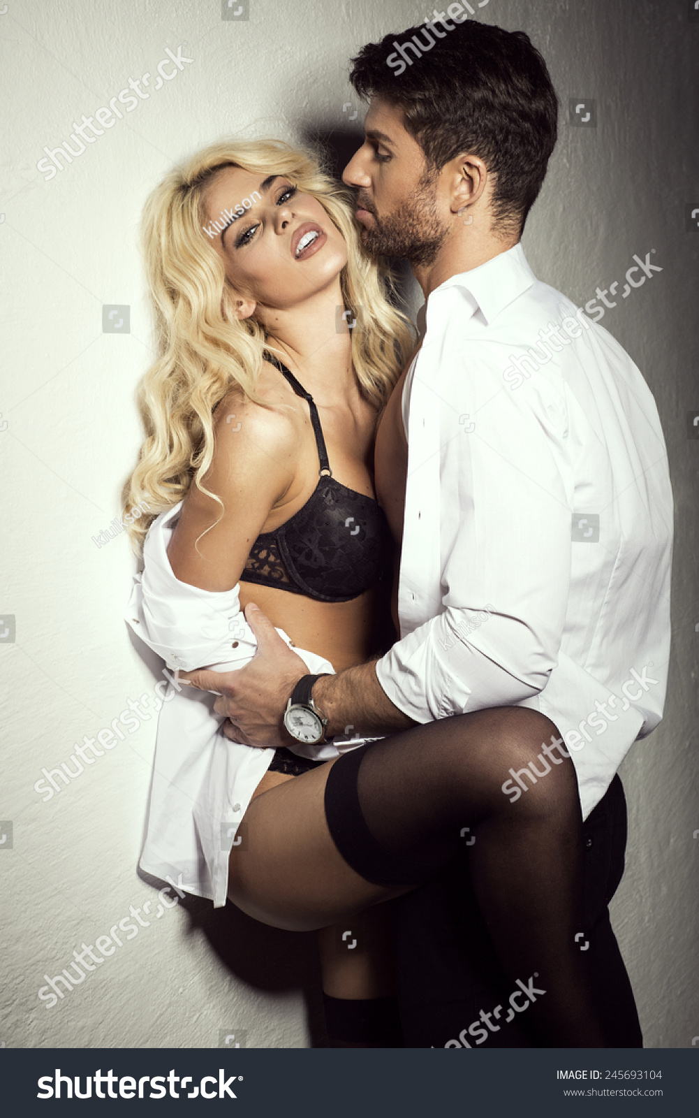 Young Sexy Undress Couple Stock Photo 245693104 - Shutterstock-9335