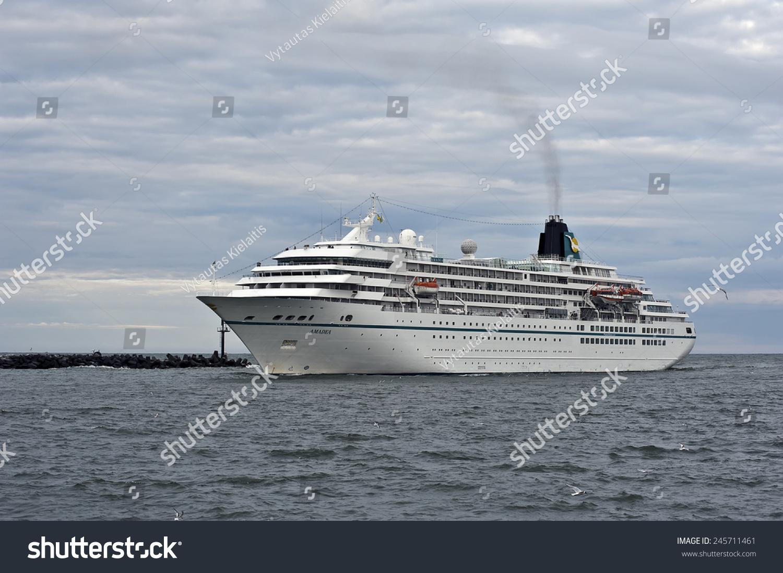 Klaipedalithuaniajune Cruise Liner Amadea Port Stock Photo - Cruise ship amadea