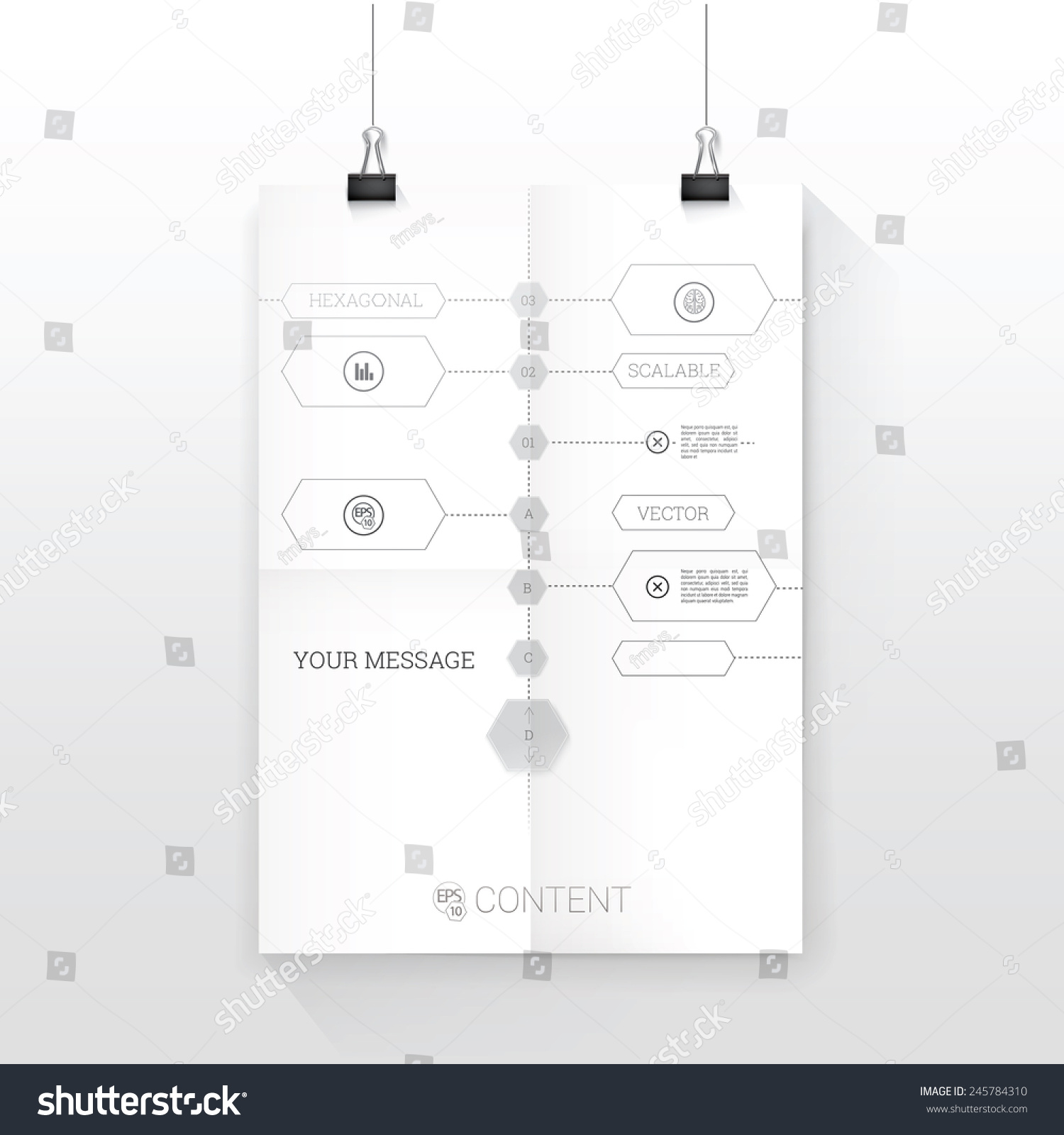 Time line blue print style vector graph stock vector 245784310 time line blueprint style vector graph black and white composition a4 sheet mock up in malvernweather Image collections