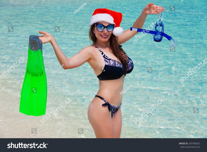Sunglasses Stock Breasts Beautiful Foto De Big Women Flippers shrQdt