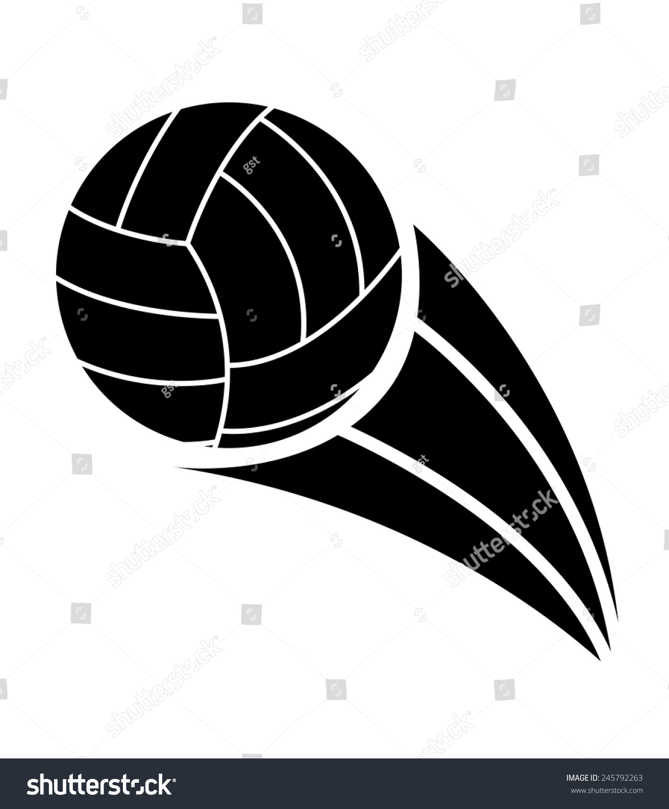 volleyball ball design vector illustration eps10 graphic