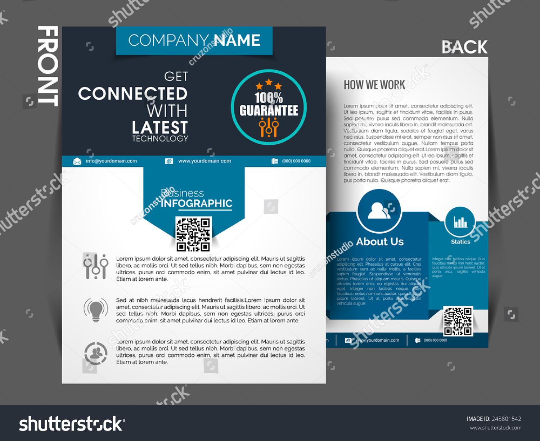 royalty marketing flyer template eps stock marketing flyer template eps10 brochure magazine cover stock vector