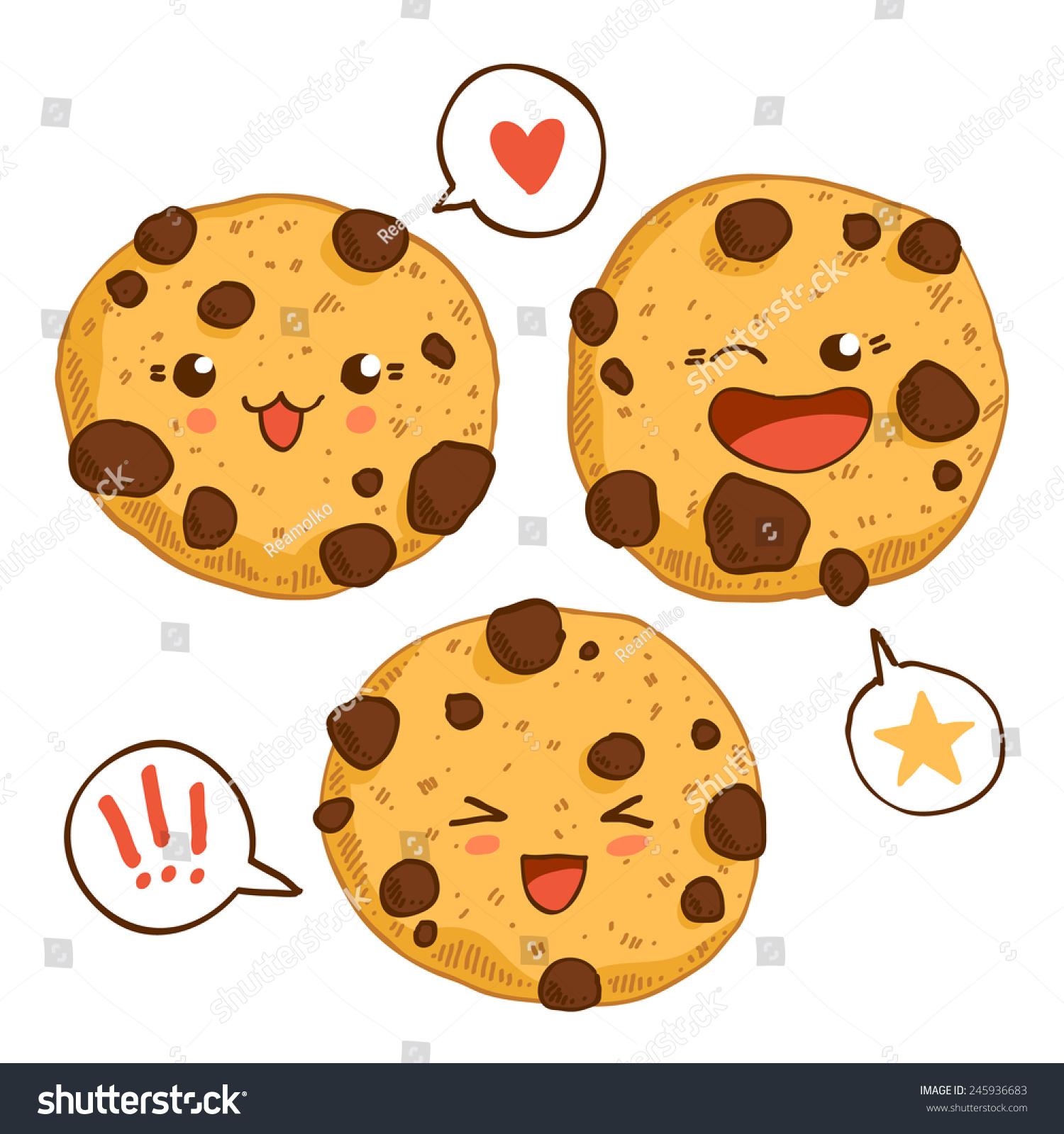 Cute Cartoon Cookies | www.imgkid.com - The Image Kid Has It!