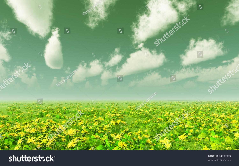 Royalty free stock illustration of beautiful field flowers stock beautiful field of flowers izmirmasajfo