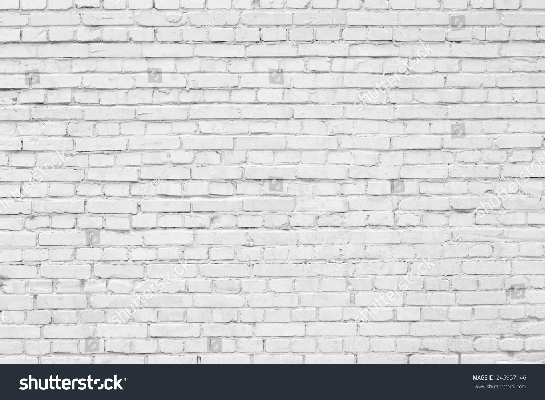 White Brick Wall Texture Stock Photo 245957146 Shutterstock