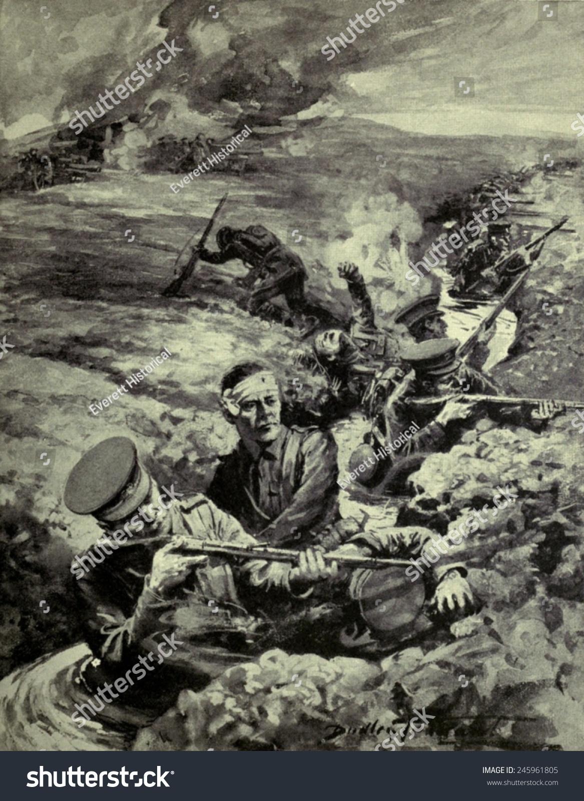 WWI Second Week September 1914 Rain Stock Illustration 245961805 ...