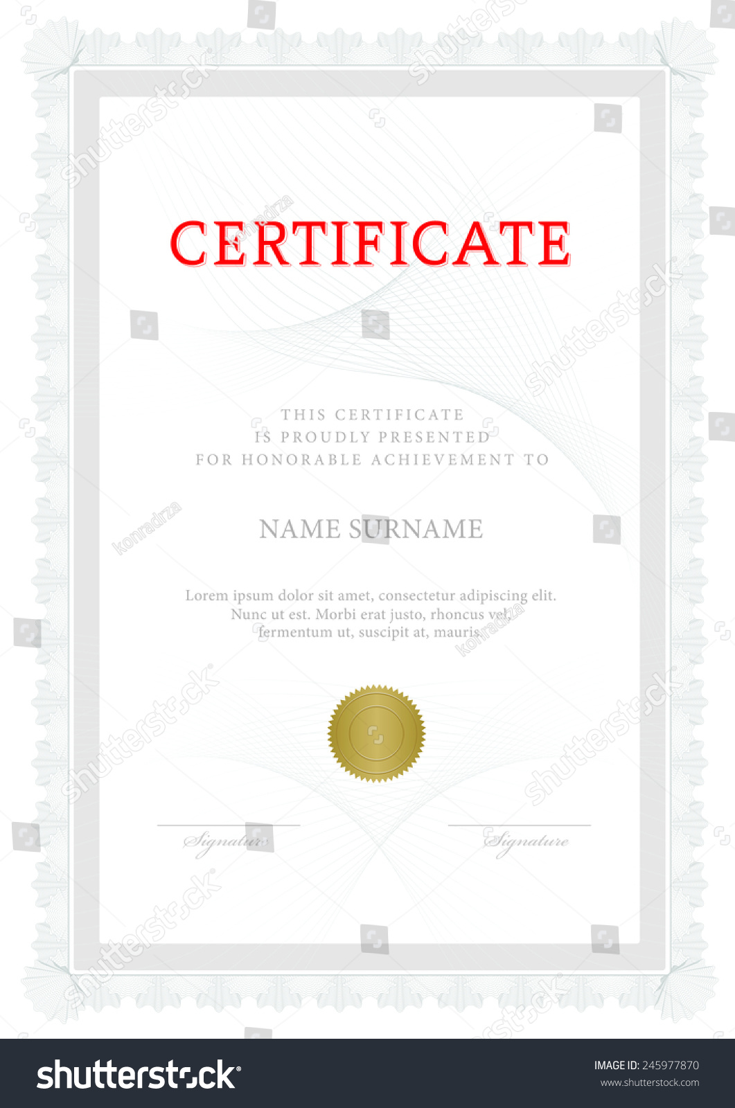 Certificate of shares template choice ticket printable uk share certificate template gallery templates example free stock vector certificate diploma of completion vector design yadclub Choice Image