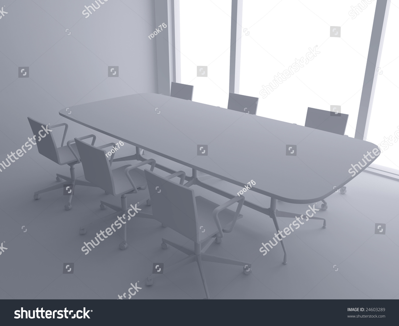 modern interior office stock. high resolution image interior 3d illustration modern office room stock t