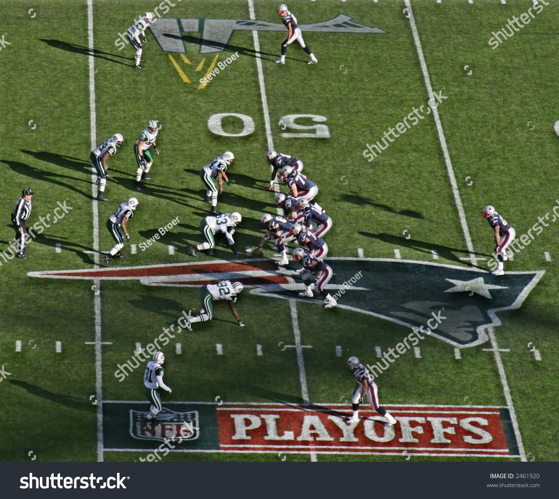 Stock Photo Patriots Jets