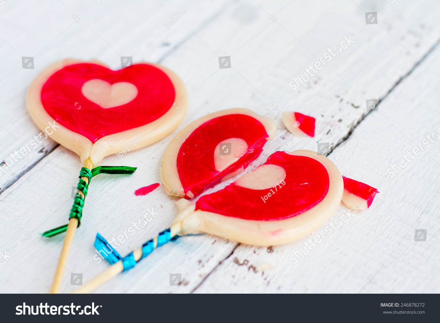 Candy broken heart sweet tasty symbol stock photo 246878272 candy broken heart the sweet and tasty as a symbol of valentines day and love of buycottarizona