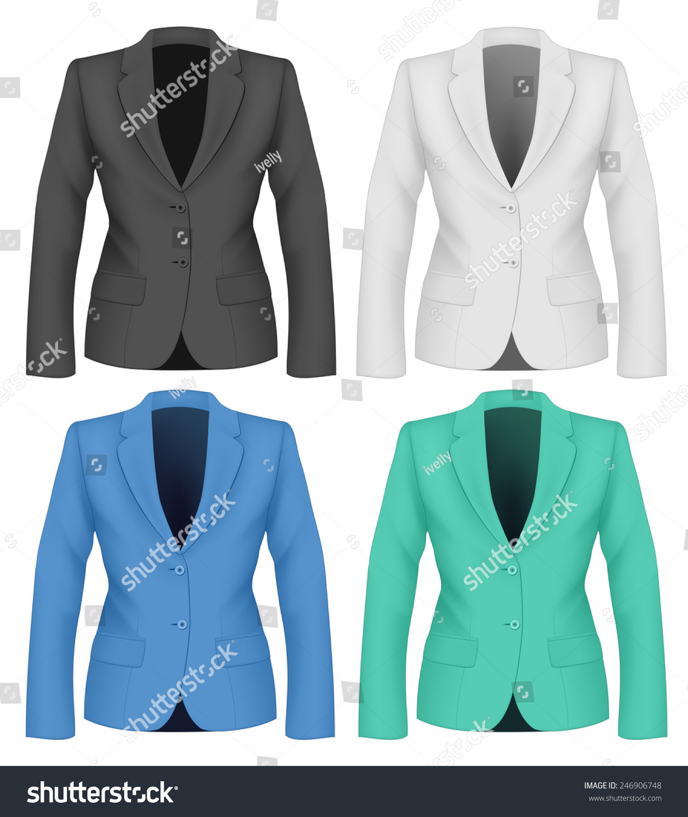Royalty-free Ladies suit jacket for business women.… #246906748 ...