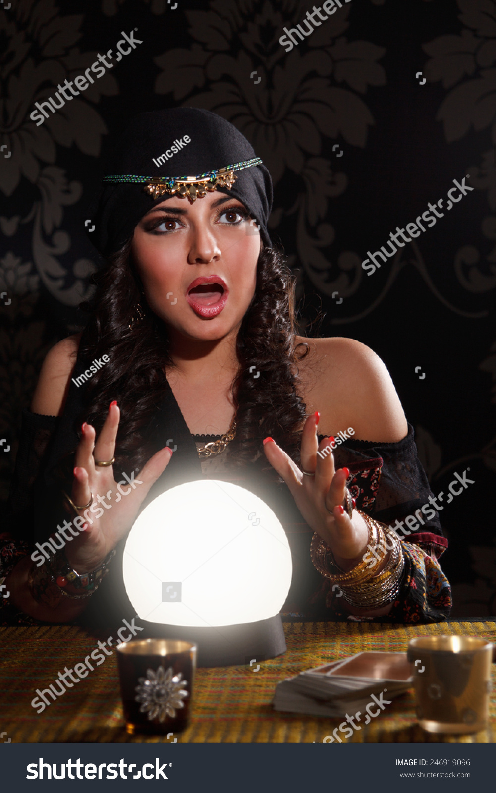 how to draw a fortune teller