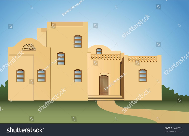 Arabic house vector stock vector 24693583 shutterstock for Arabic house music