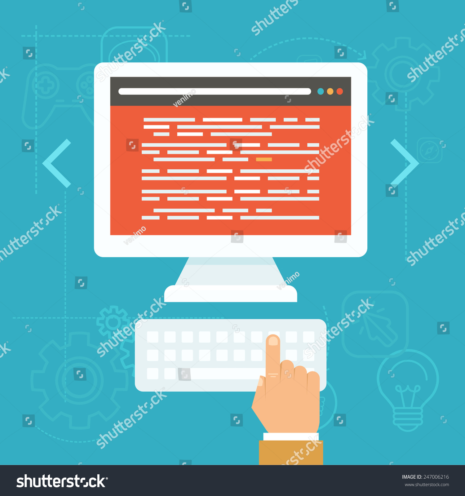 Vector Software Testing Concept In Flat Style Source