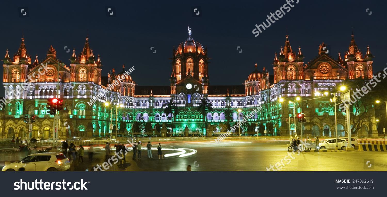 mumbai vt station images