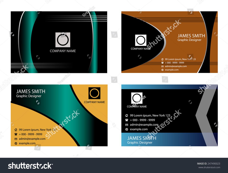 horizontal business card - Gidiye.redformapolitica.co