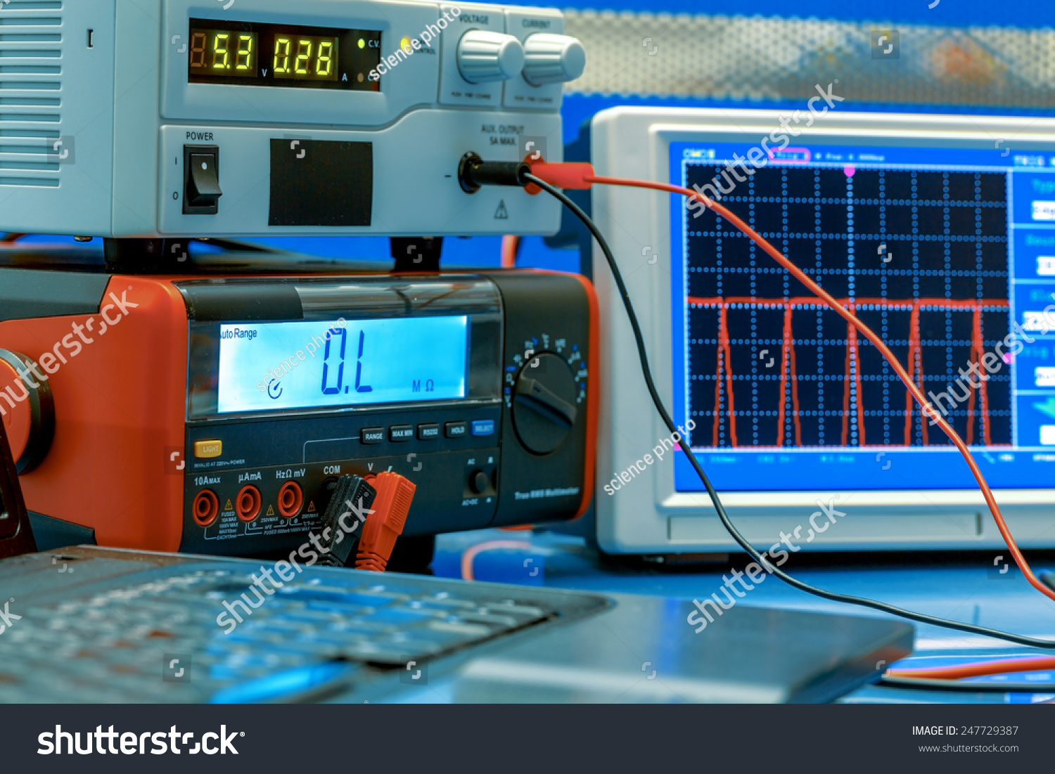 Electronic Lab Instruments : Electronic measuring instruments hitech computer