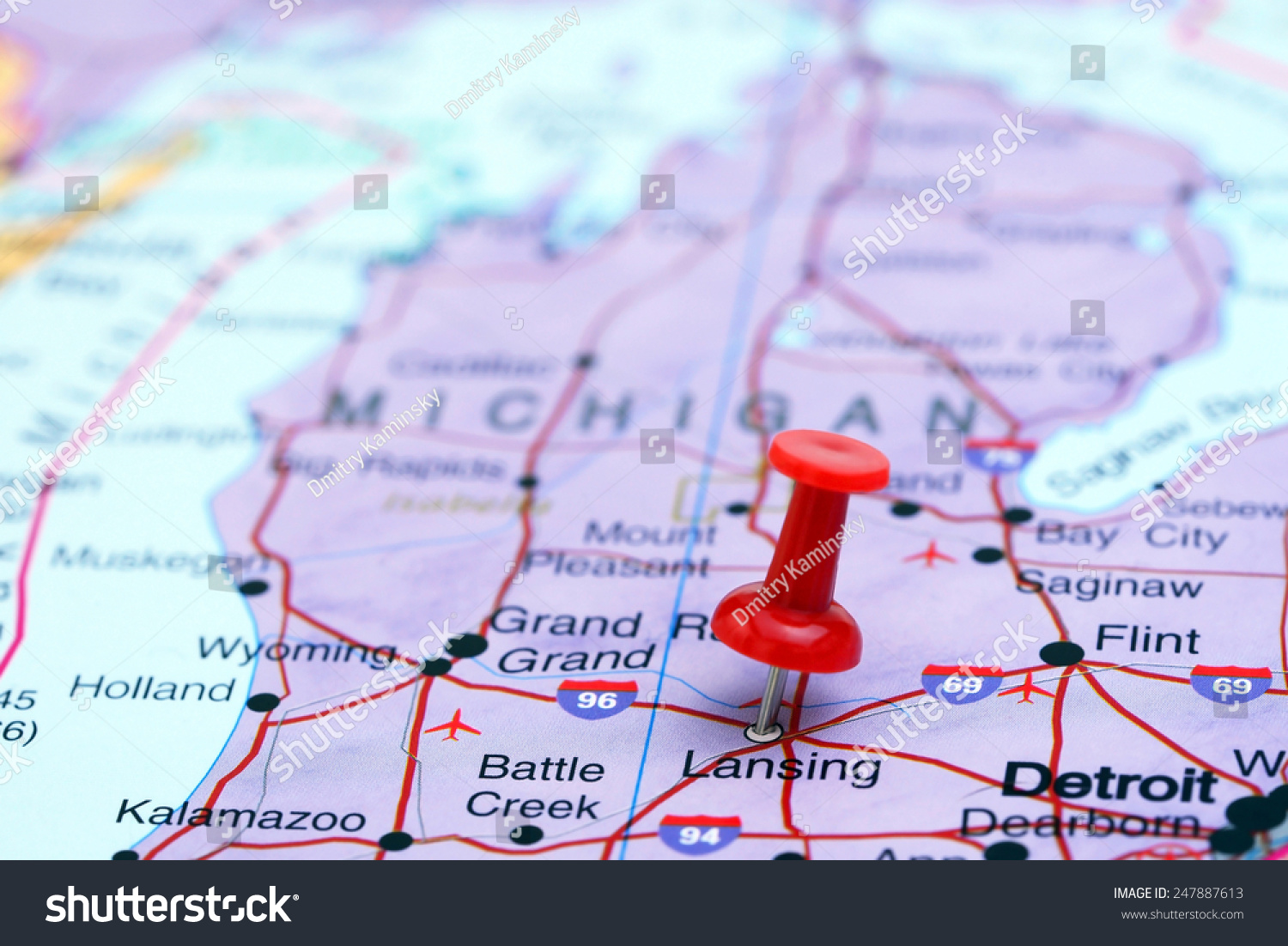 Usa Map Kalamazoo Picture Ideas References