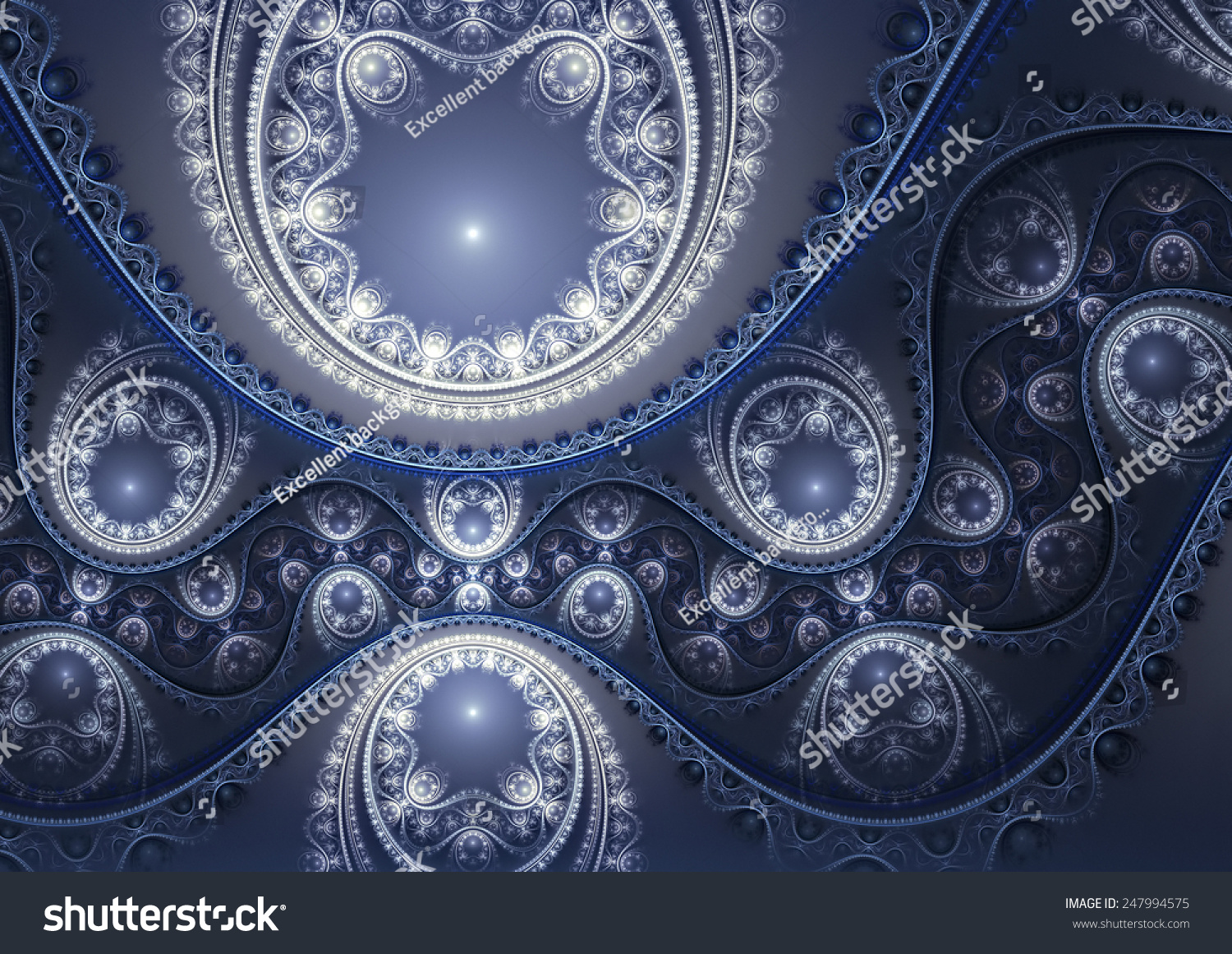 abstract ornate blue background luxury winter stock illustration abstract ornate blue background luxury winter pattern beautiful decoration for desktop cover
