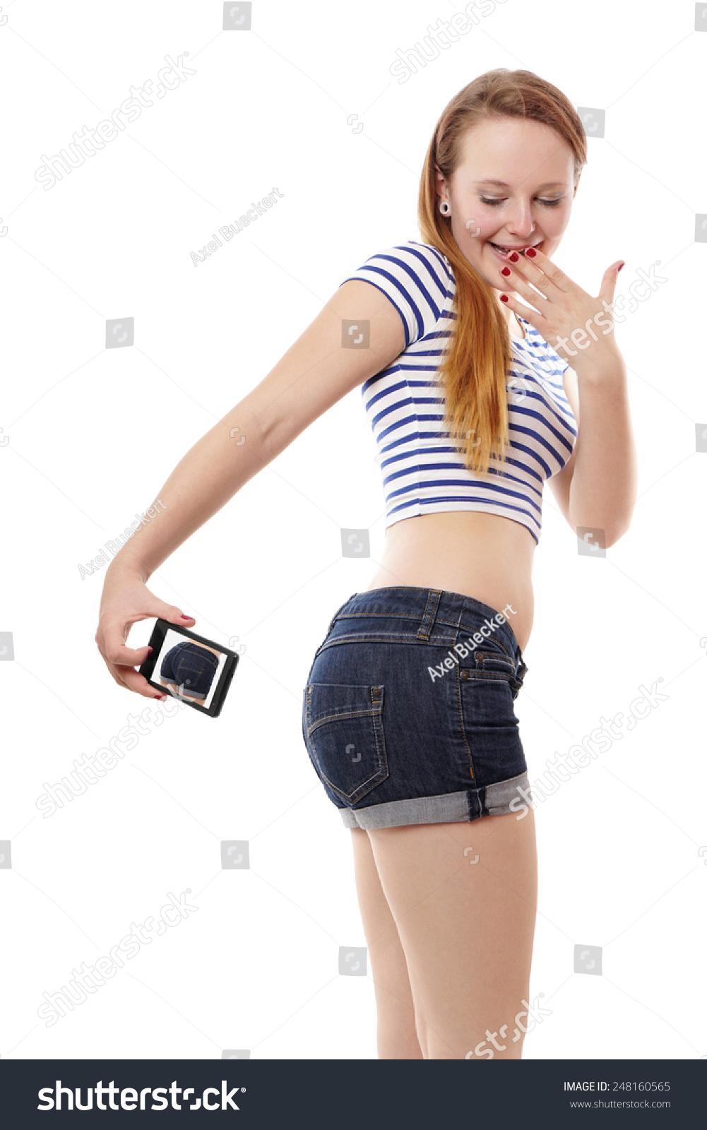 Teen ass selfies