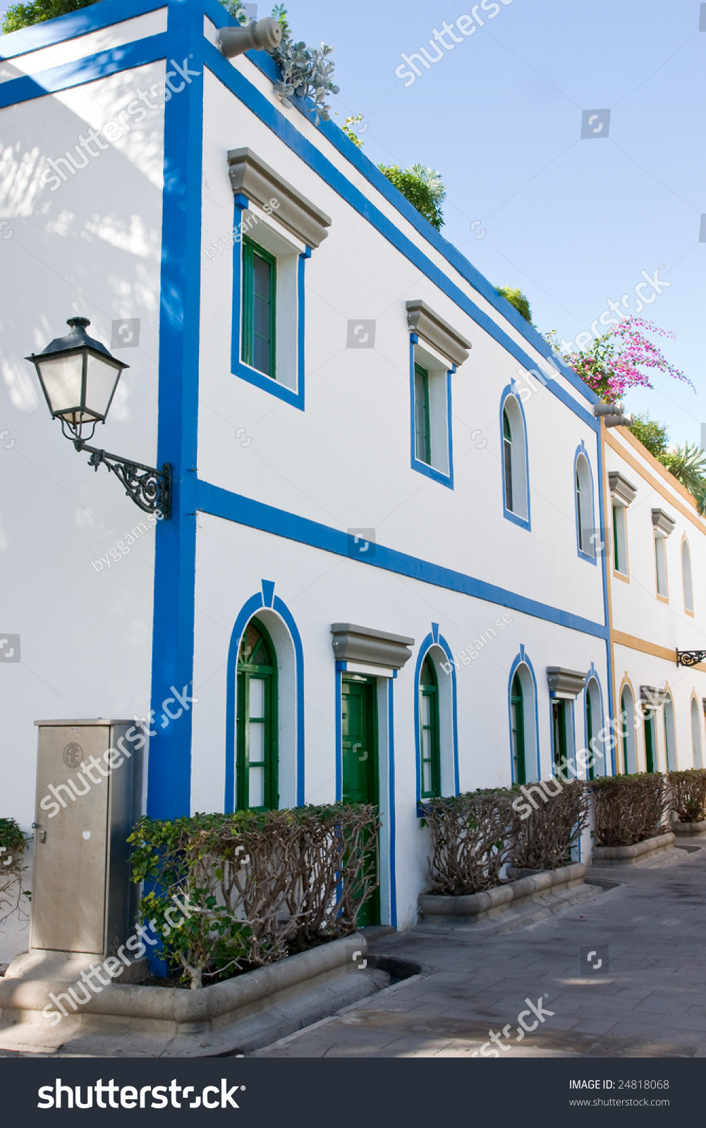 Gran canaria house stock photo 24818068 shutterstock - Houses in gran canaria ...