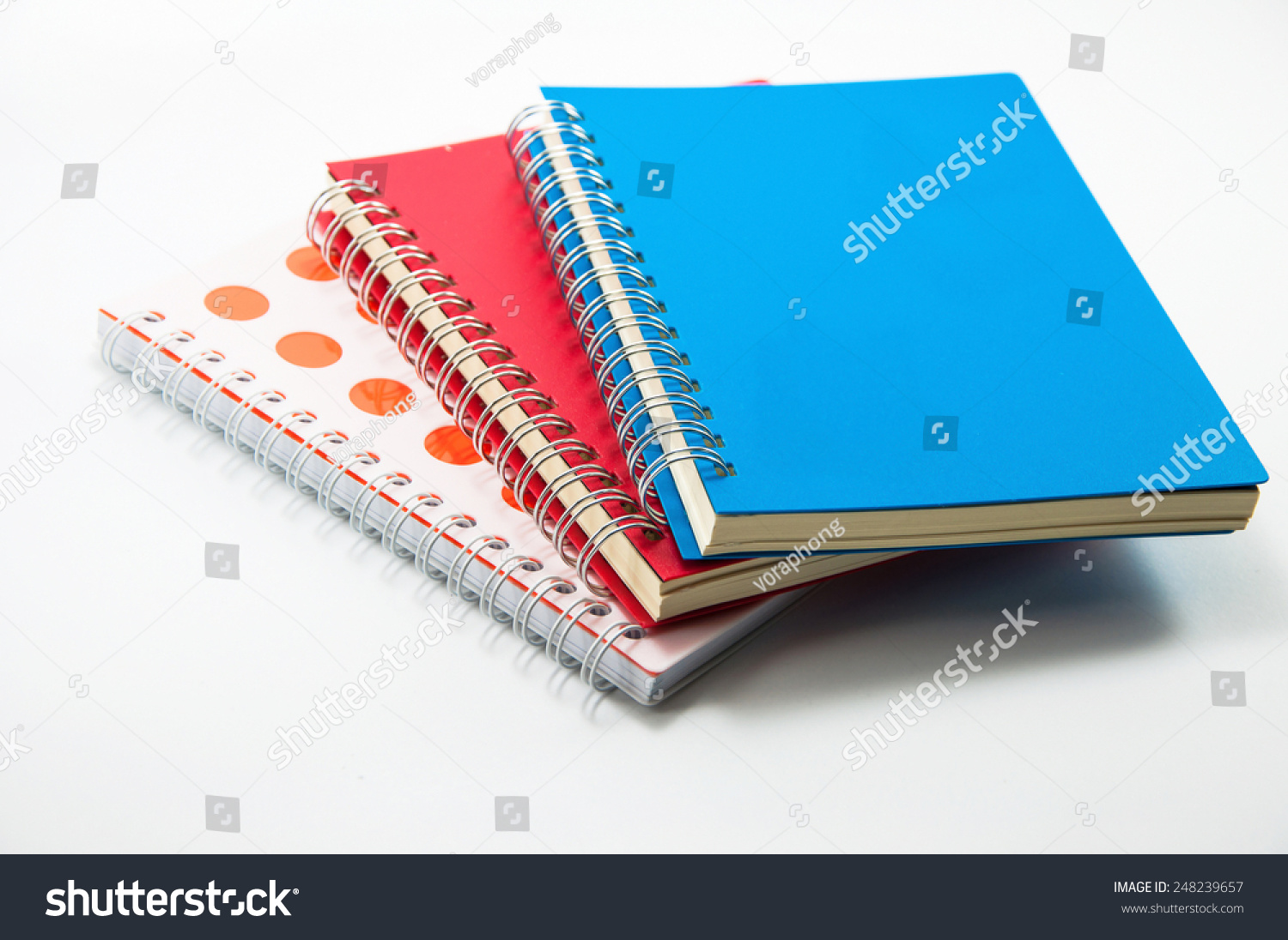 Notebooks cover binder