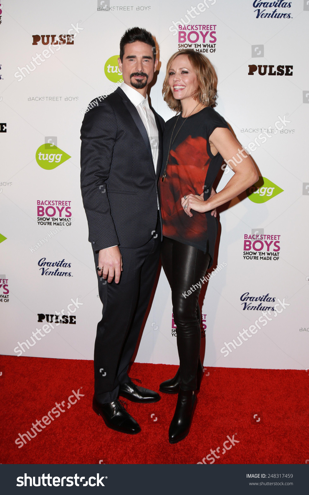Los Angeles Jan 29 Kevin Richardson Stock Photo 248317459 ...