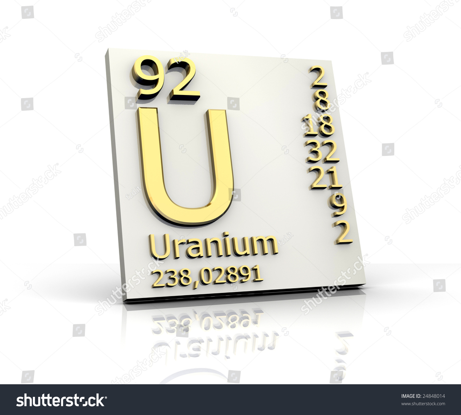 Uranium form periodic table elements stock illustration 24848014 uranium form periodic table of elements gamestrikefo Image collections