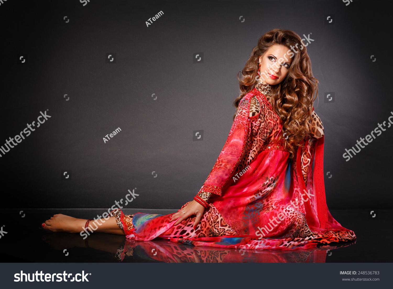 Beautiful Woman Belly Dancer, Arabian Beauty Girl