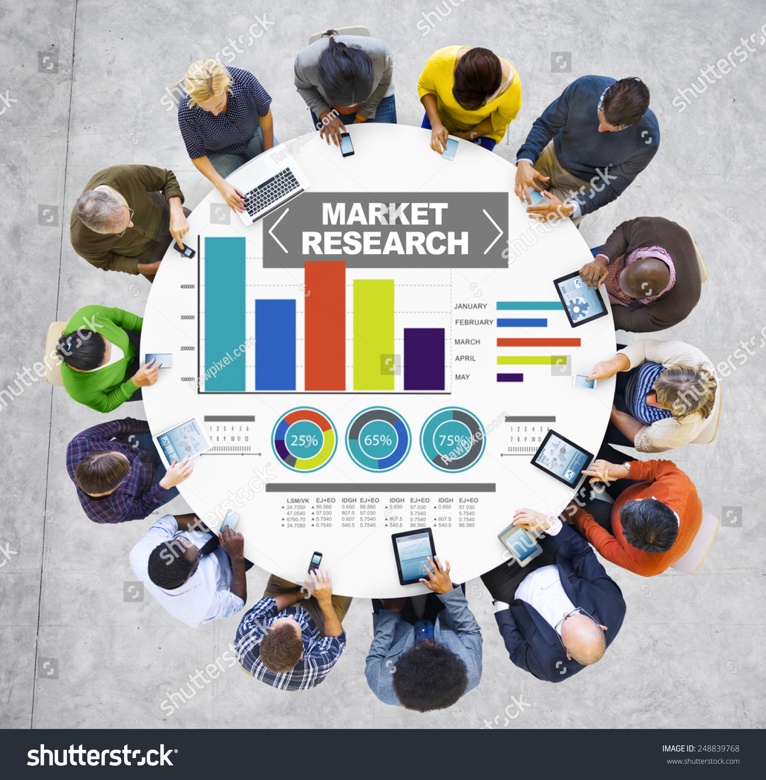 Market Research Business Percentage Research Marketing Stock Photo Stock Photo Market Research Business Percentage Research Marketing Strategy Concept  Stock Photo Market Research Business Percentage Research Marketing Strategy Concept