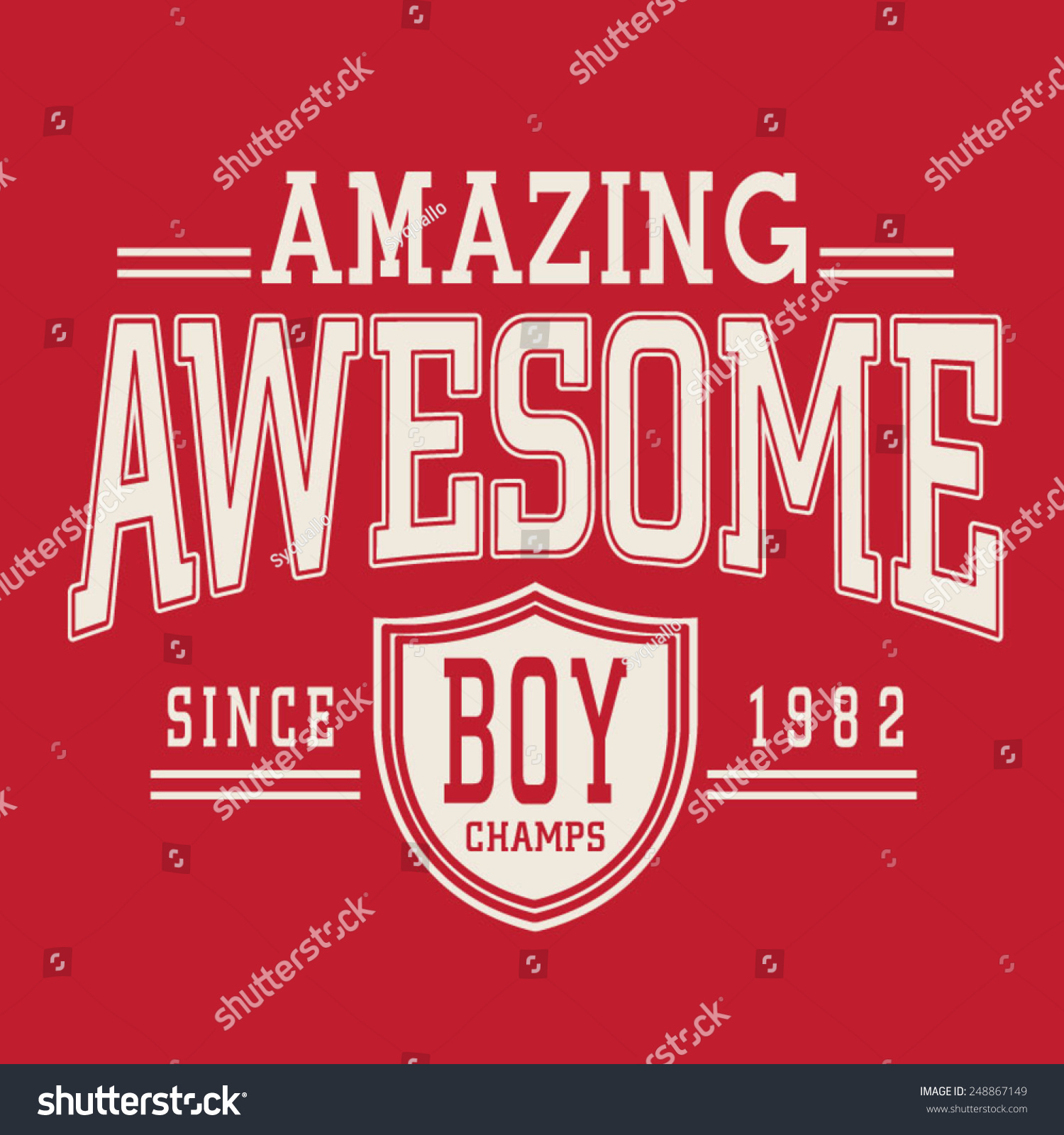 Sport college amazing typography t-shirt graphics vectors