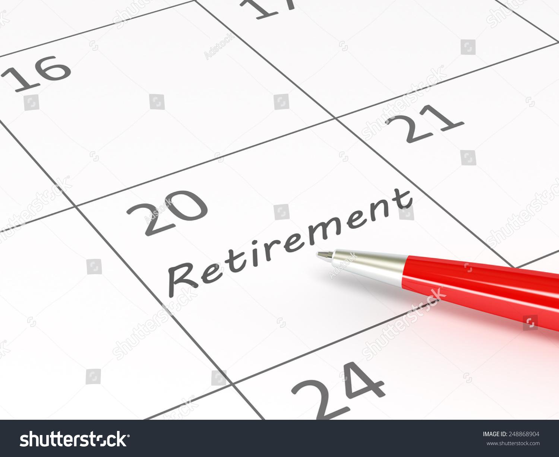 retirement words on calendar stock illustration 248868904 shutterstock