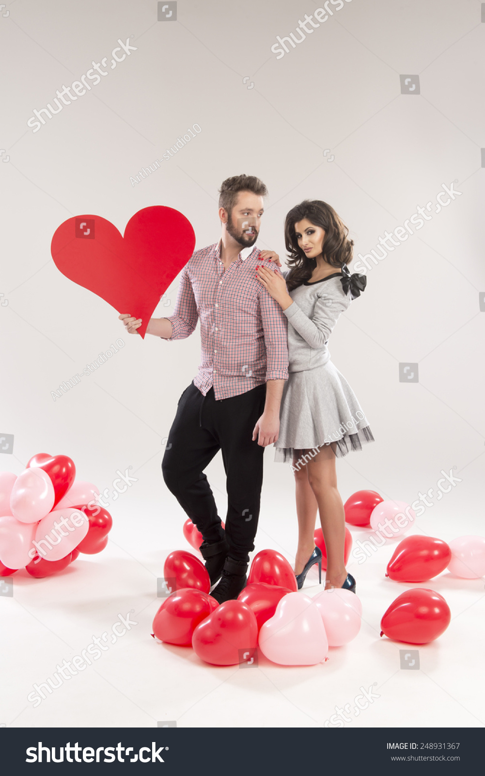 valentines day heart couple - photo #12