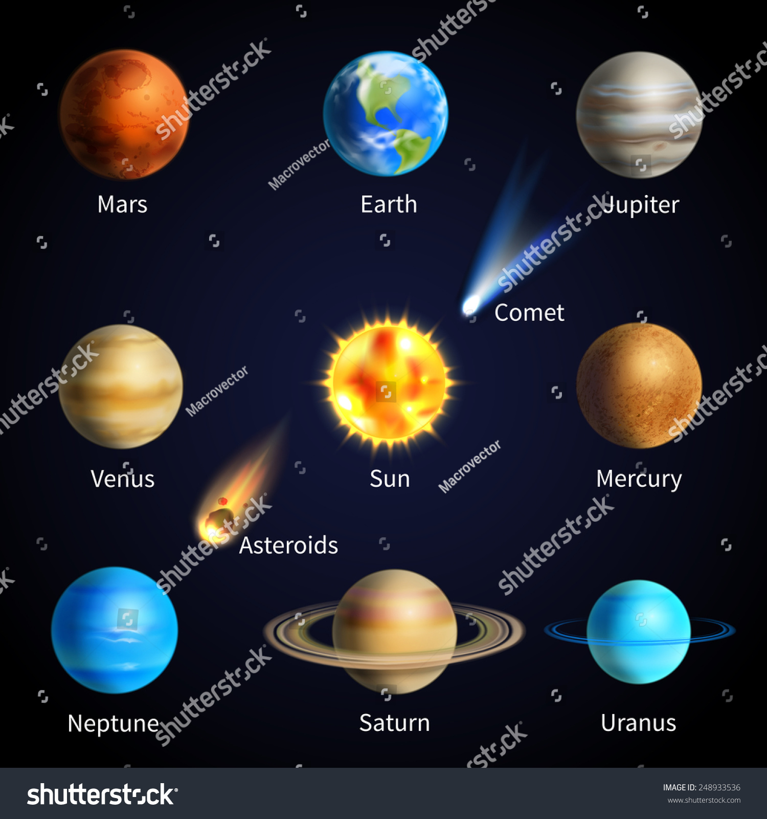 real solar system planets - photo #7
