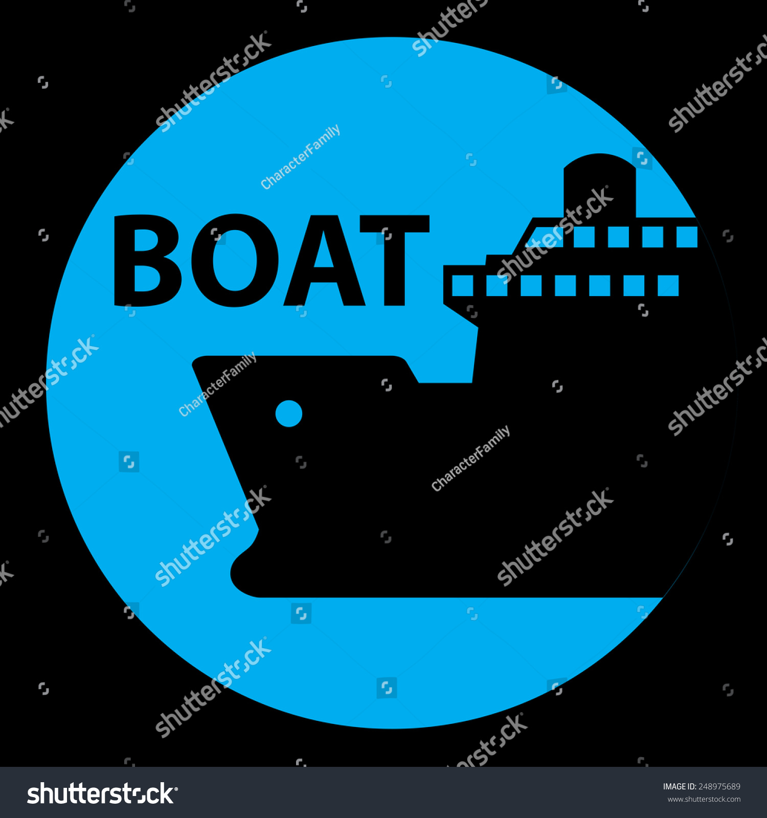 Ship boat cruise port signs symbol stock vector 248975689 ship boat cruise port signs and symbol buycottarizona