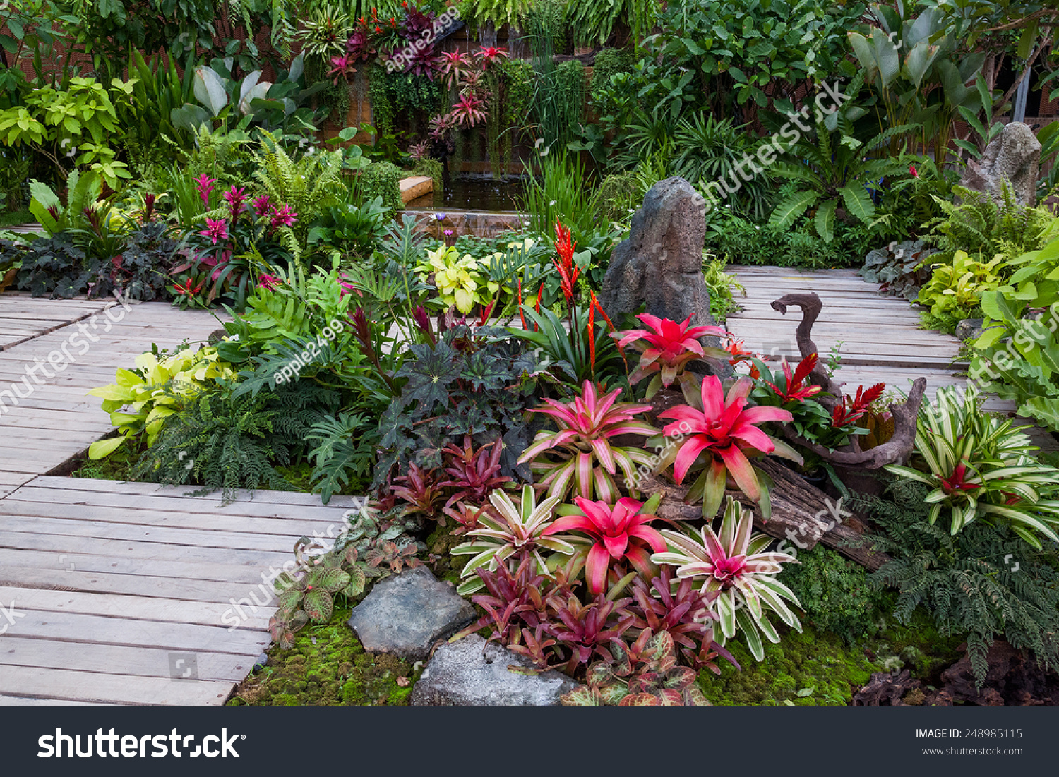 Garden Decorate Stock Photo (Royalty Free) 248985115 - Shutterstock
