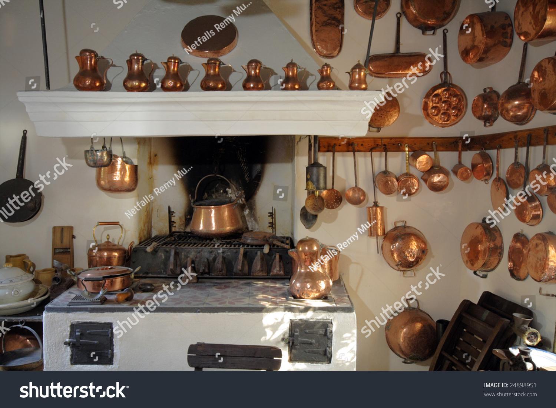 Old Kitchen Old Kitchen On Corfu Island Greece Stock Photo 24898951 Shutterstock