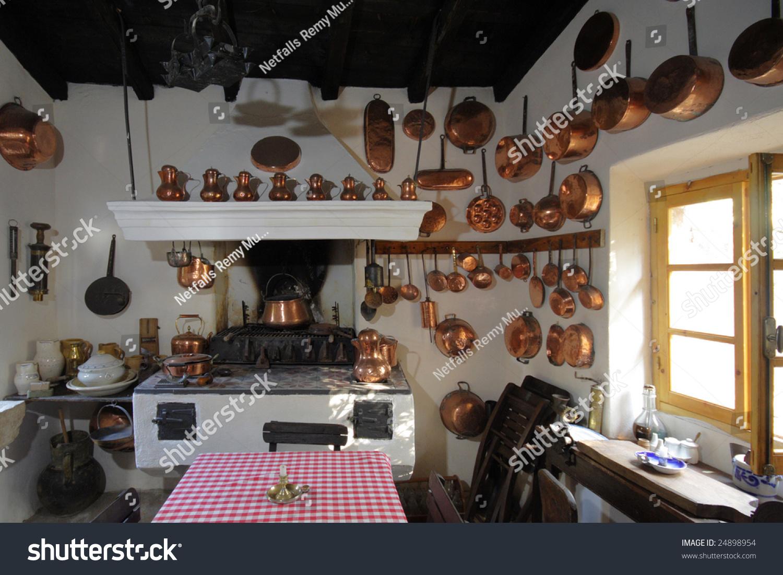 Old Kitchen Old Kitchen On Corfu Island Greece Stock Photo 24898954 Shutterstock