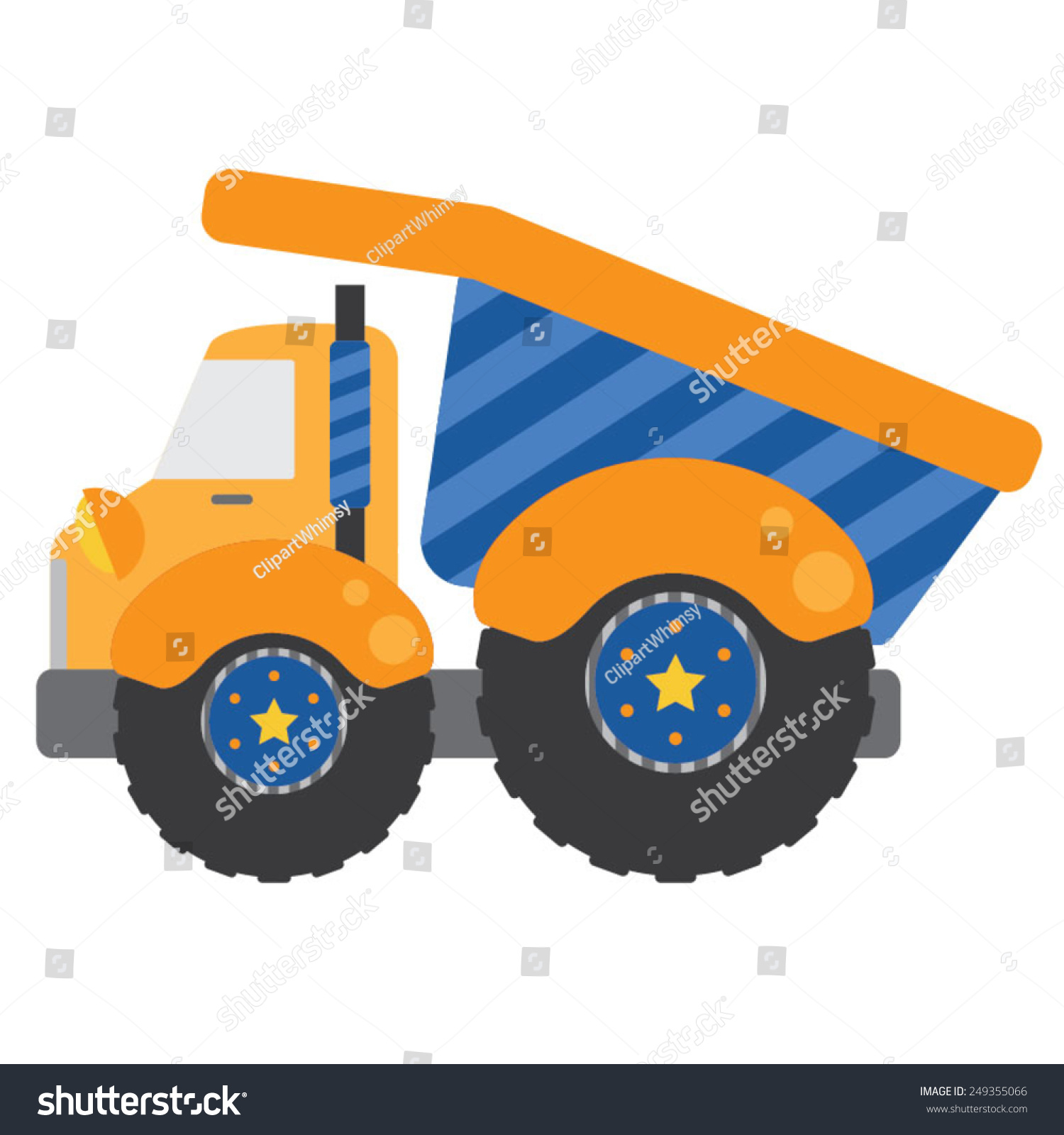 yellow truck clipart - photo #46