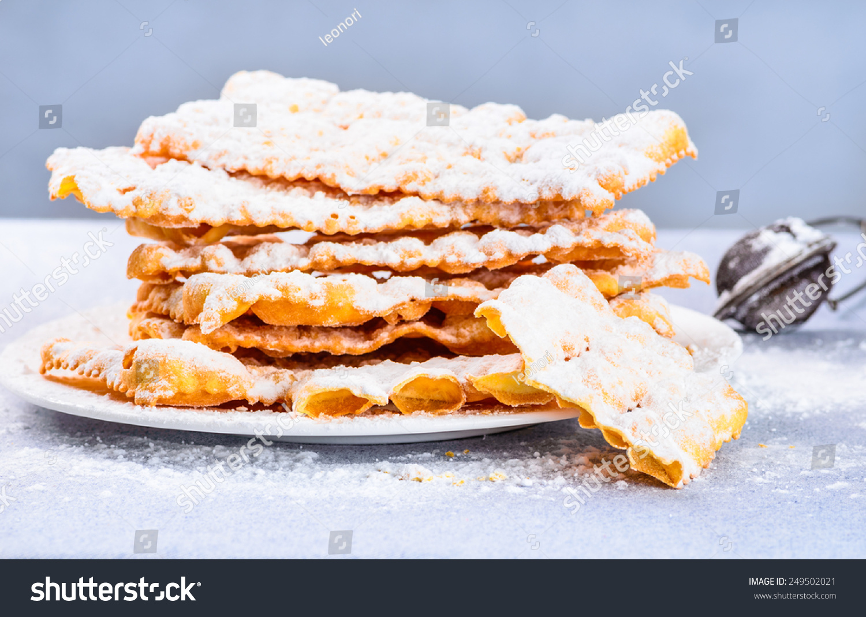 Crostoli Pastries Recipe — Dishmaps