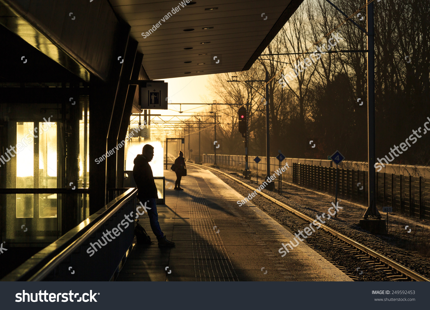 waiting for the morning train Former bill express chief financial officer mark lichtenstein has admitted the company's accounts were 'a train wreck waiting to happen',  morning & afternoon.