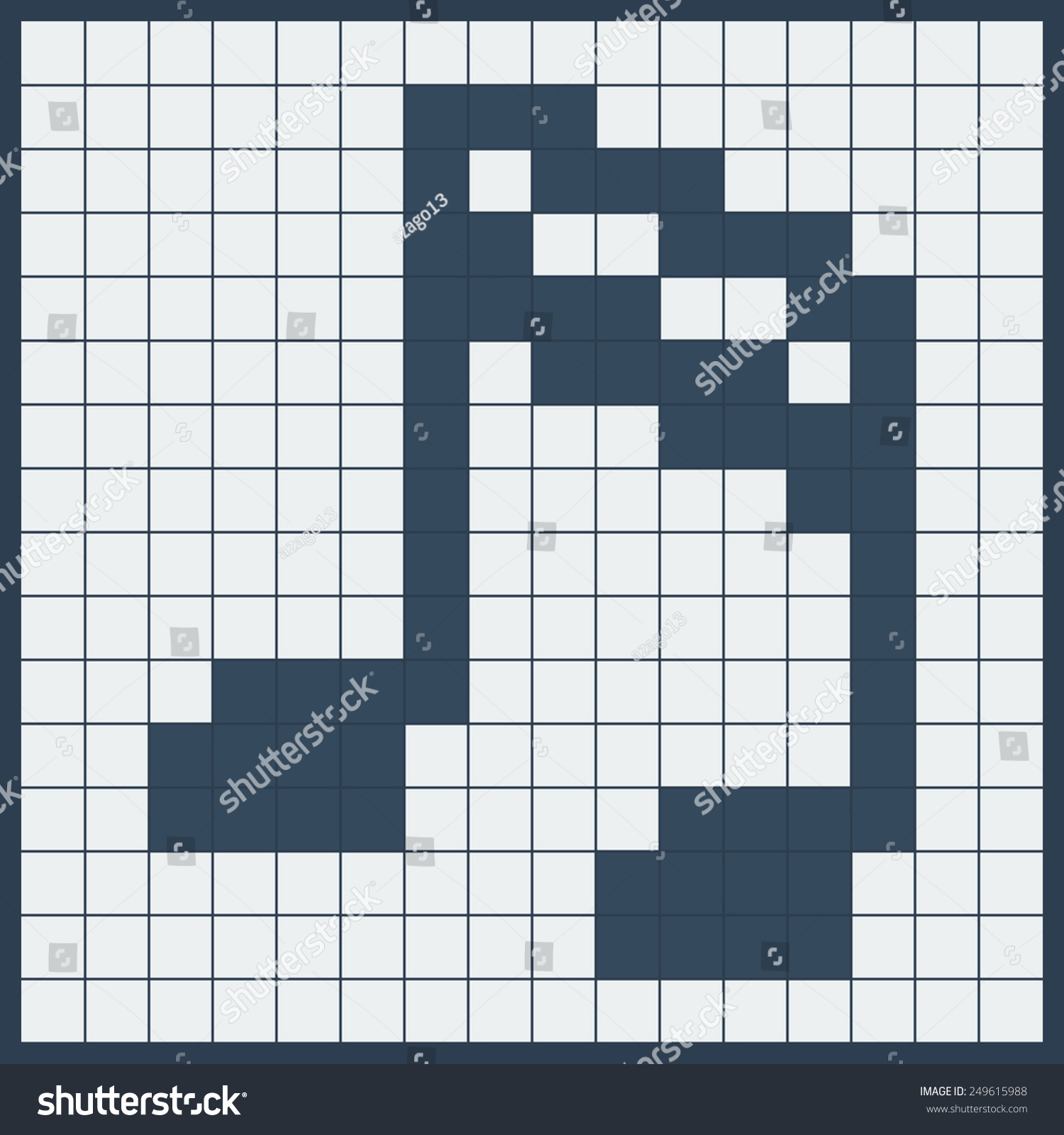 Musical symbol crossword images symbol and sign ideas music symbol note icon made squares stock vector 249615988 music symbol note icon made of squares buycottarizona