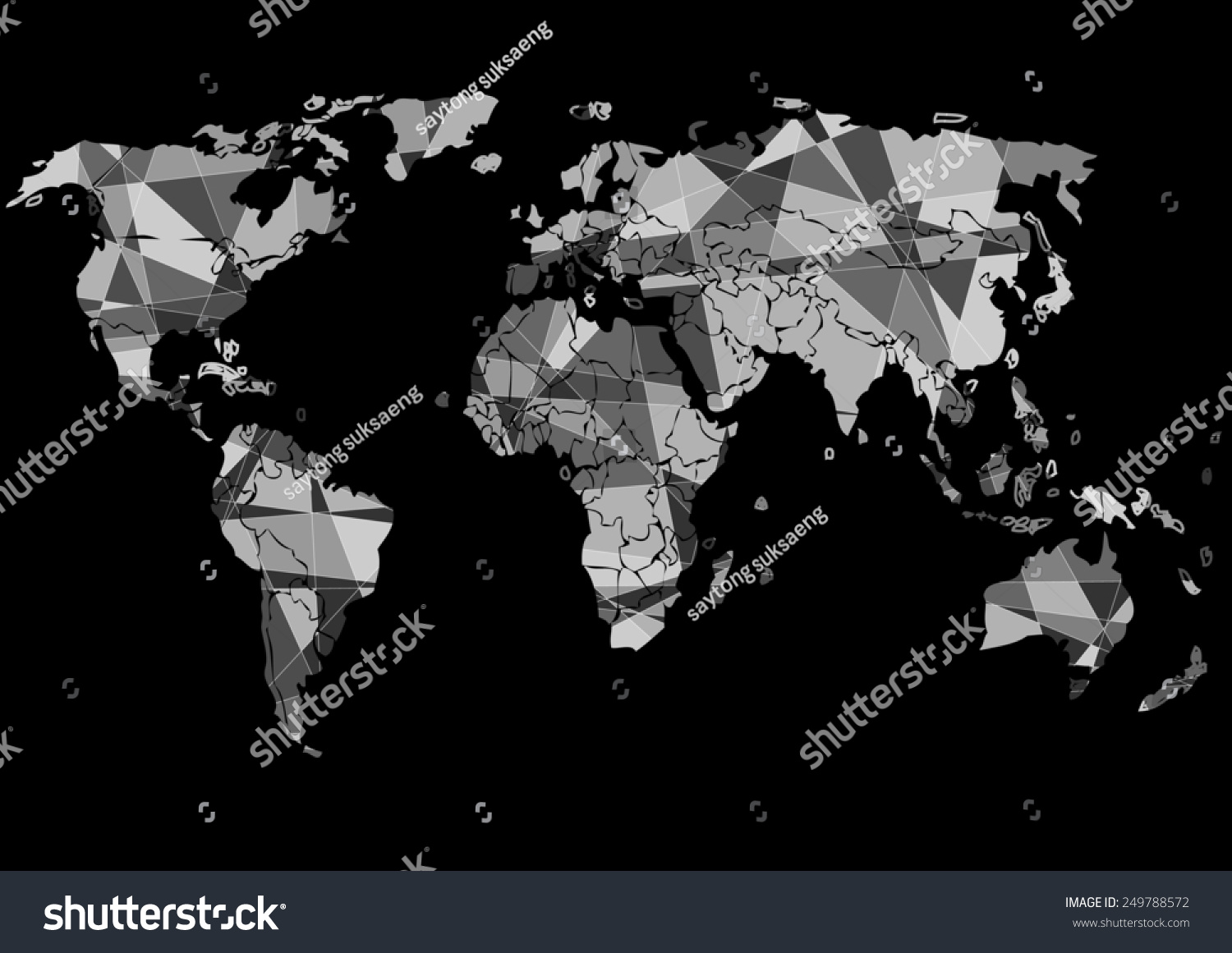 Drawing world map vector graphics stock vector 2018 249788572 drawing the world map vector graphics gumiabroncs Images