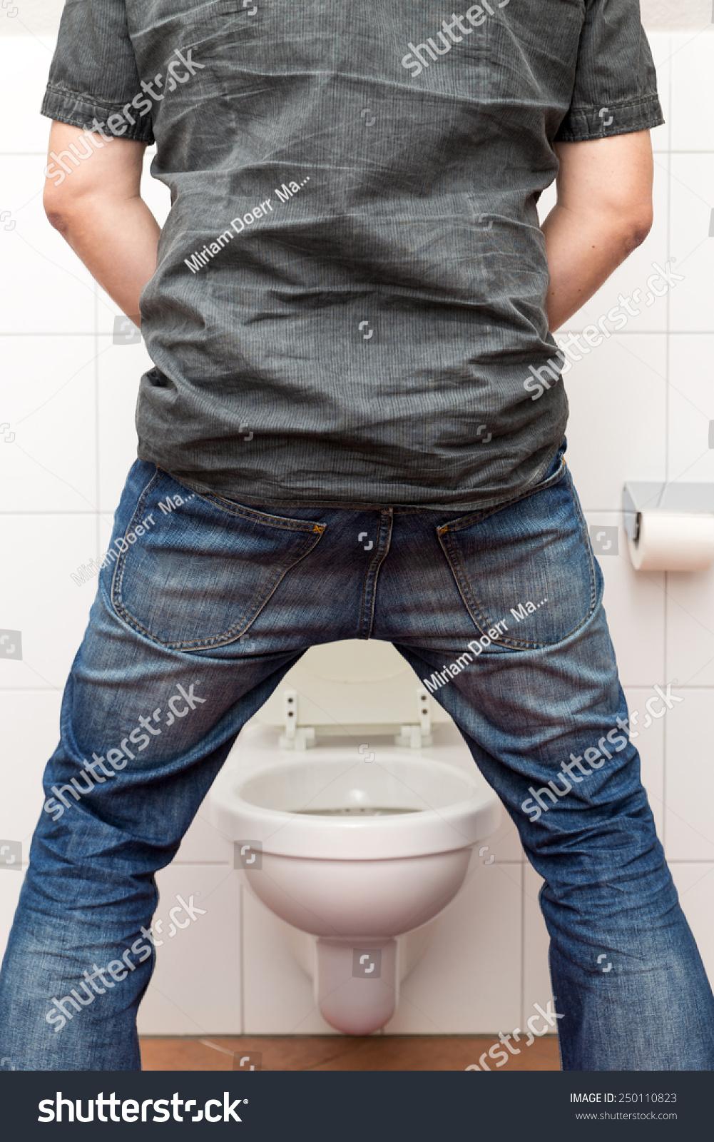 Man Peeing Standing Restroom Stock Photo 250110823 Shutterstock. Design A Bathroom Vanity