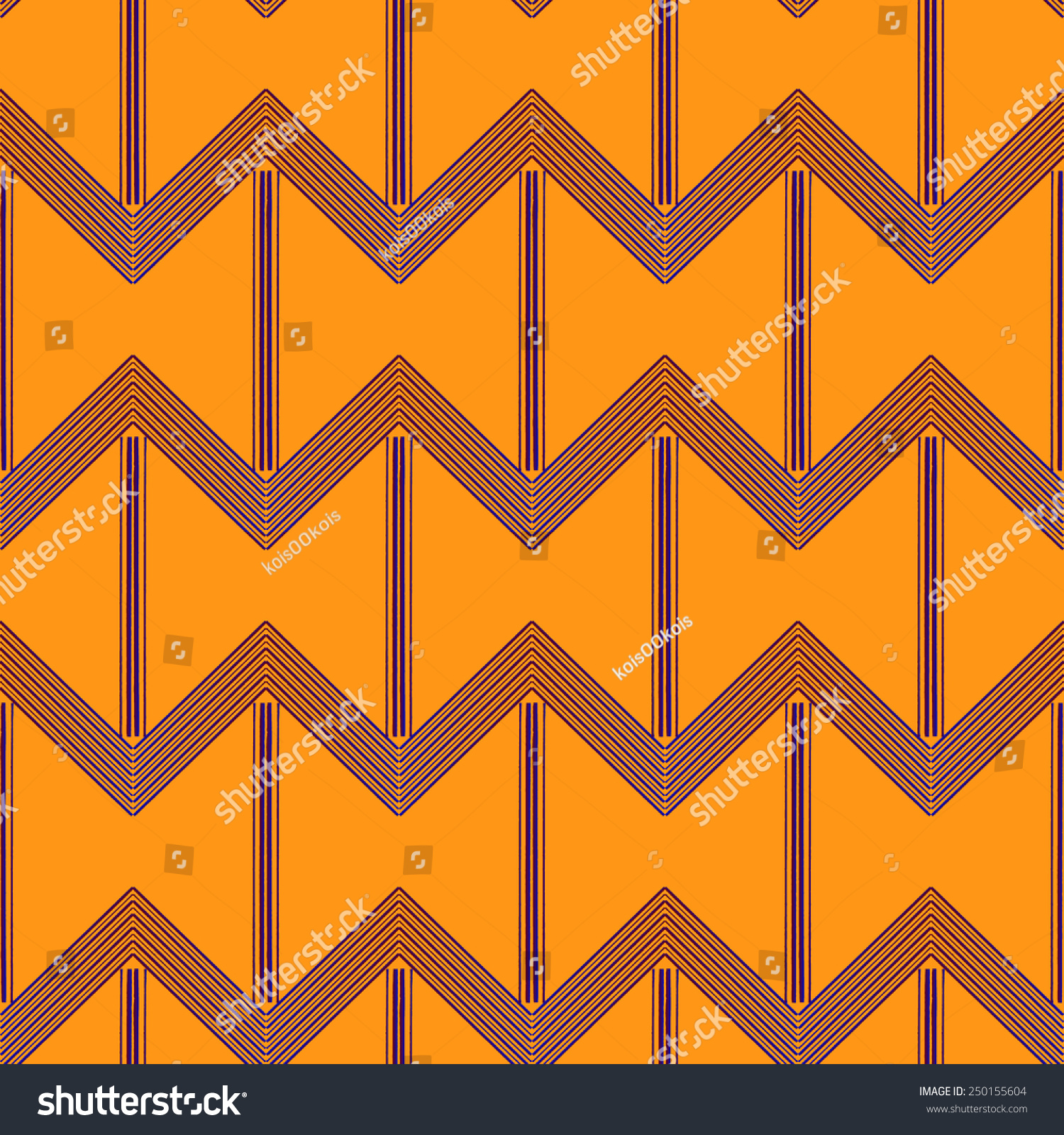 Abstract Geometric Art Deco Seamless Pattern Stock Vector ...