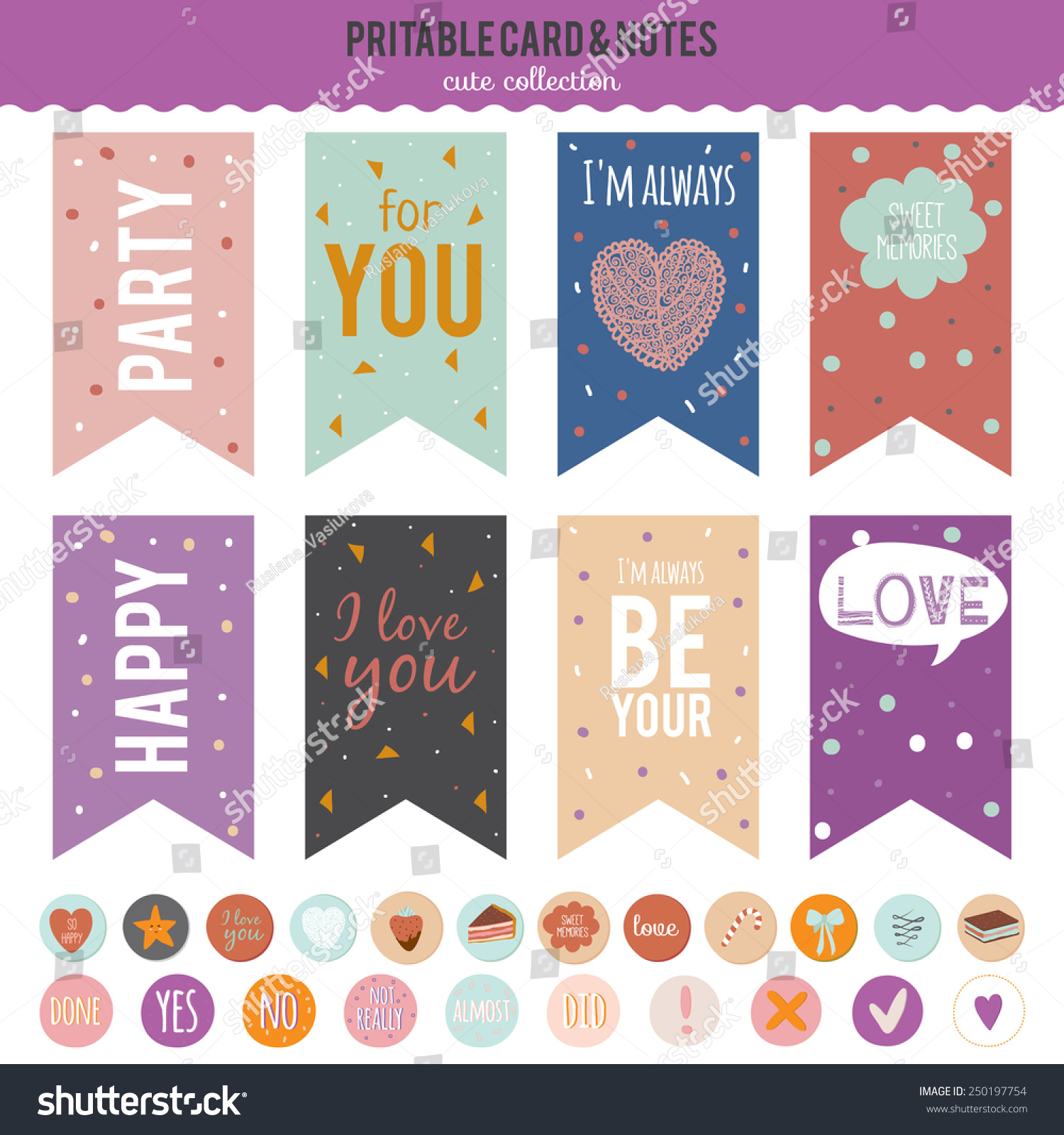 Craft Paper Label Stickers