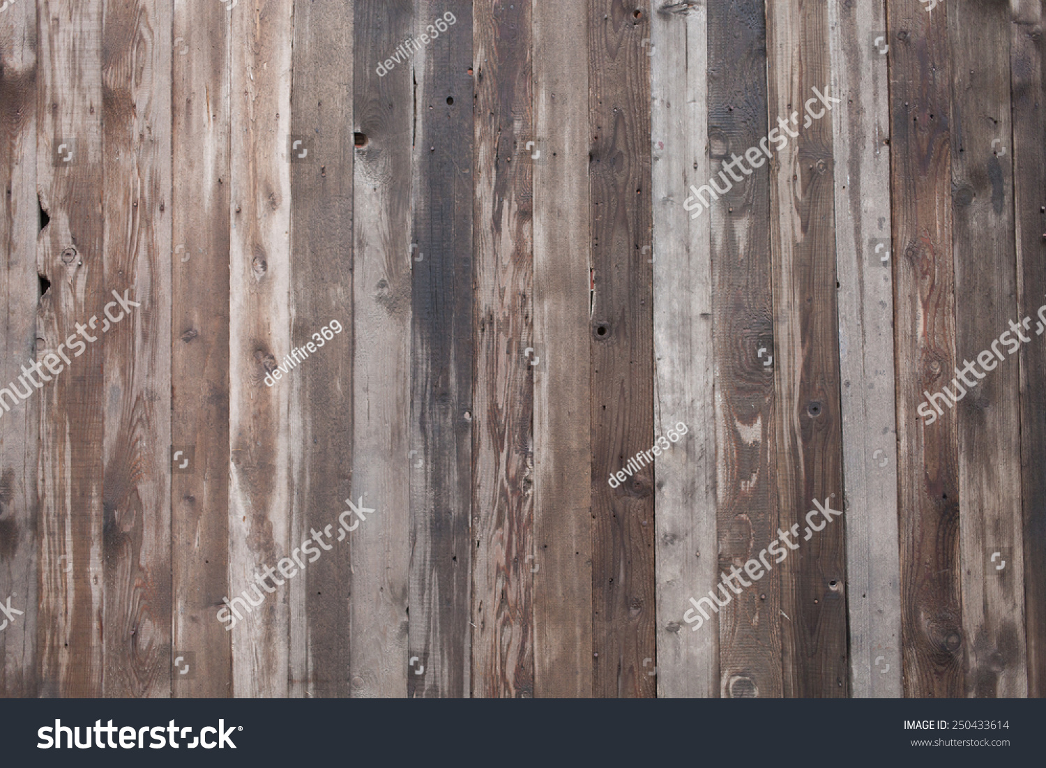 Weathered Barn Wood : Rustic Weathered Barn Wood Background With Knots Stock Photo 250433614 ...