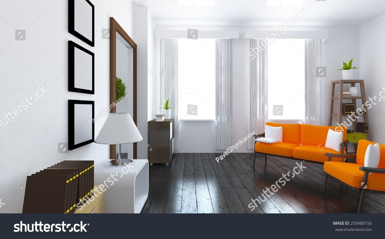 Unique Orange Living Room Component - Living Room Design Ideas ...