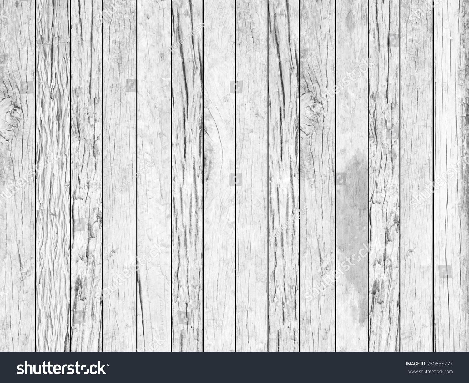 Royalty Free Vintage Aged White Grey Color Wooden 250635277 Stock